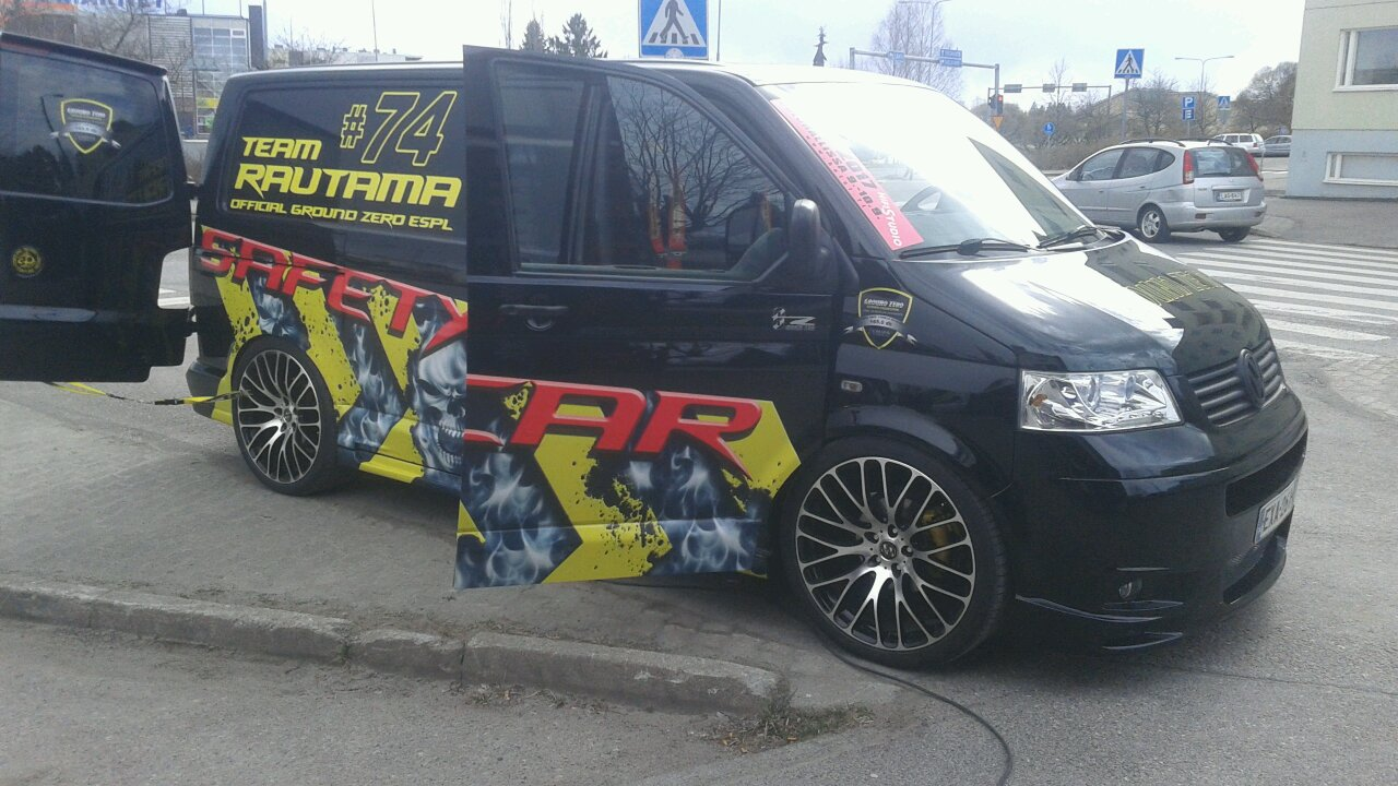 Saw This Transporter In The Same Place As The Nissan And It
