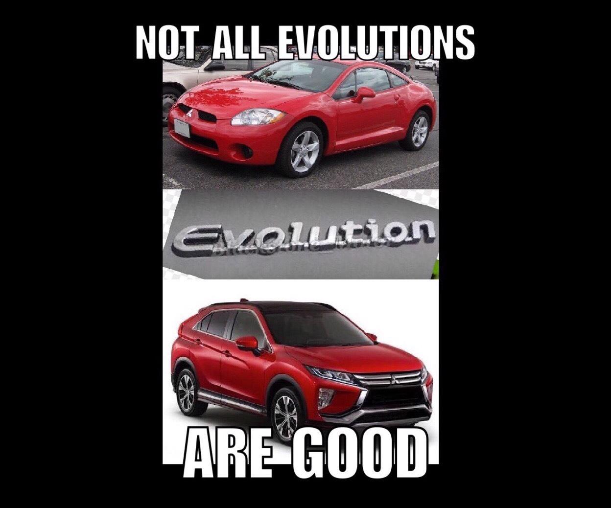 97e036cc68ba39c1ae99d7c497cb8ac7 mitsubishi meme no 3 evolution woes