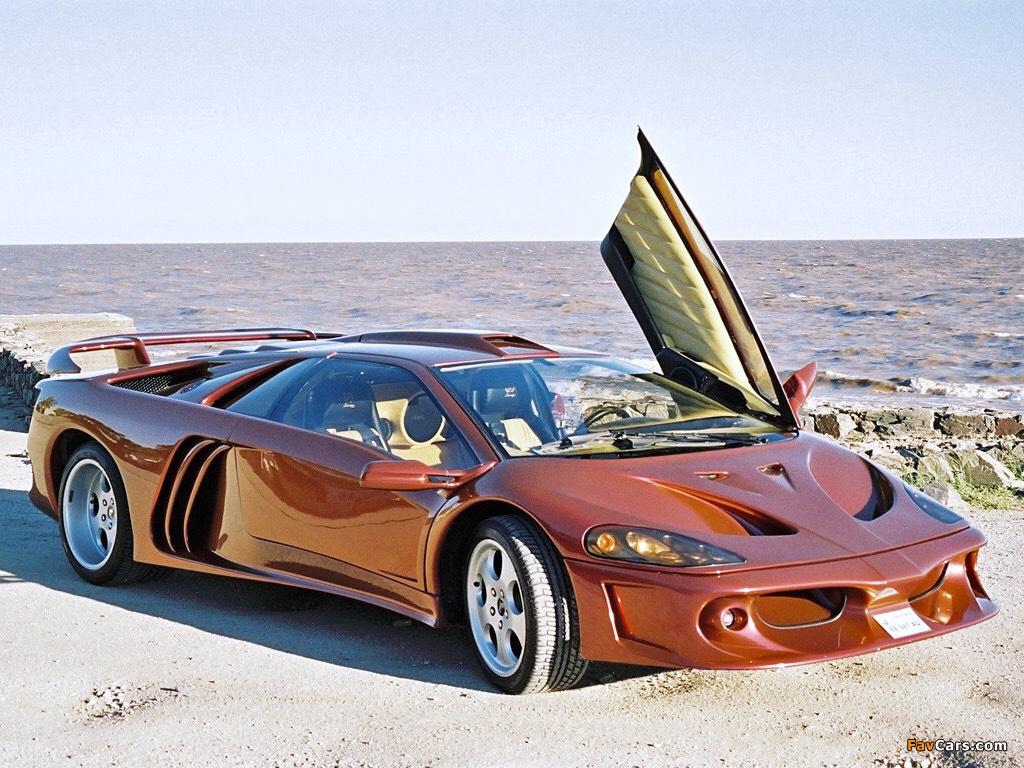 The Lamborghini Diablo Coatl The Variant Of The Diablo Which You
