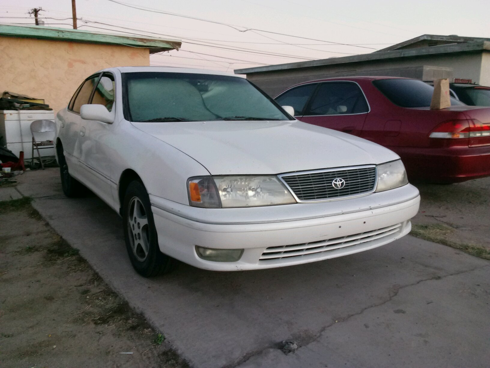 1998 toyota avalon xls car throttle