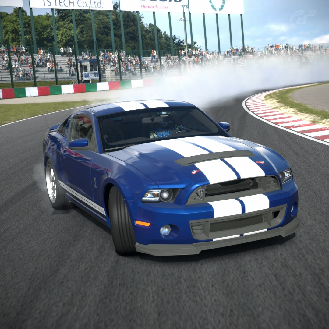 The best drift car on gt6 tune shelby gt500