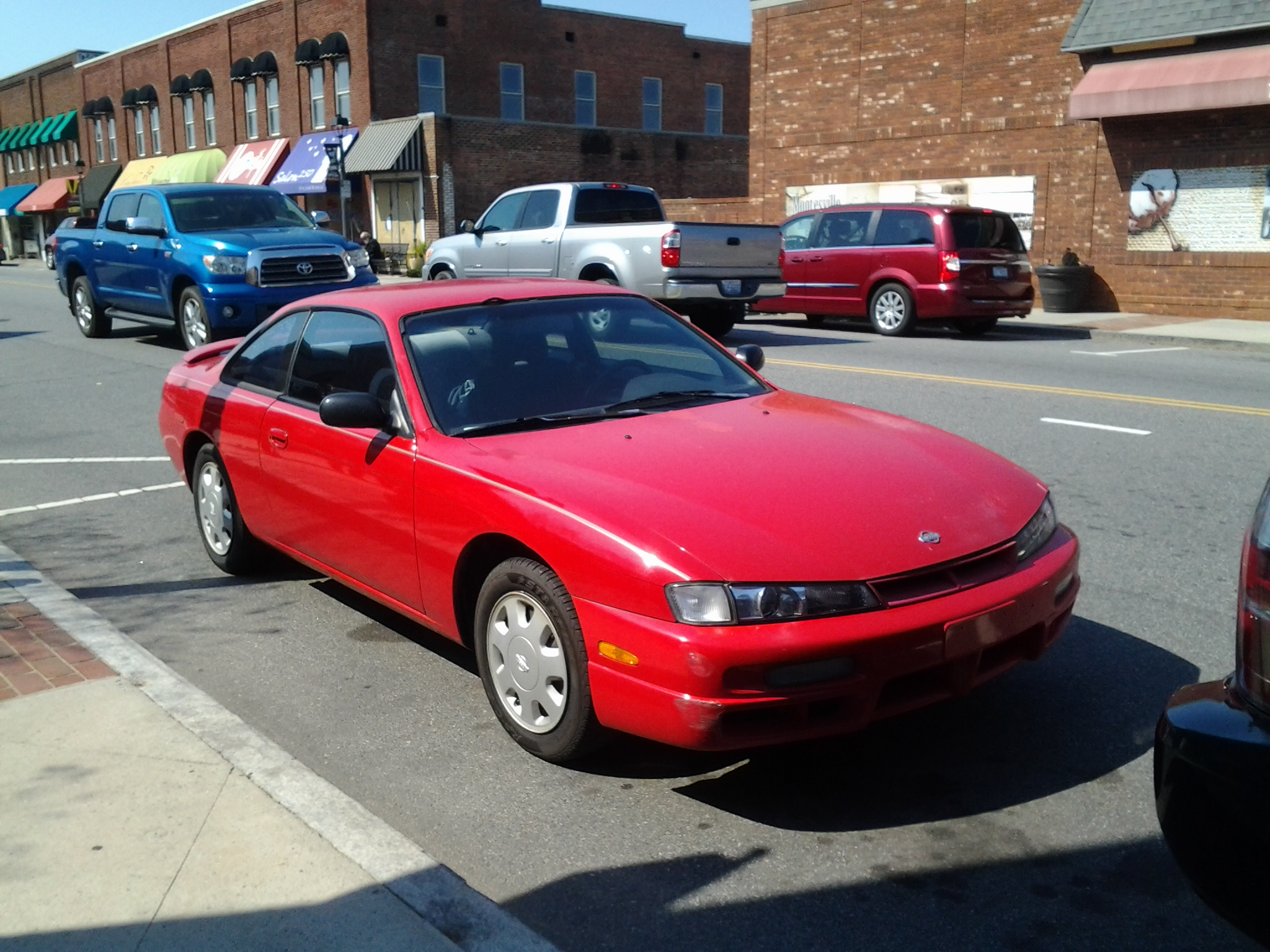 One of the rarest cars in the world.... a stock s14.