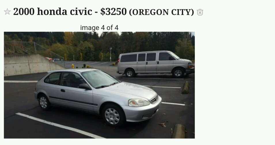 I think i found a cleanest civic on craigslist