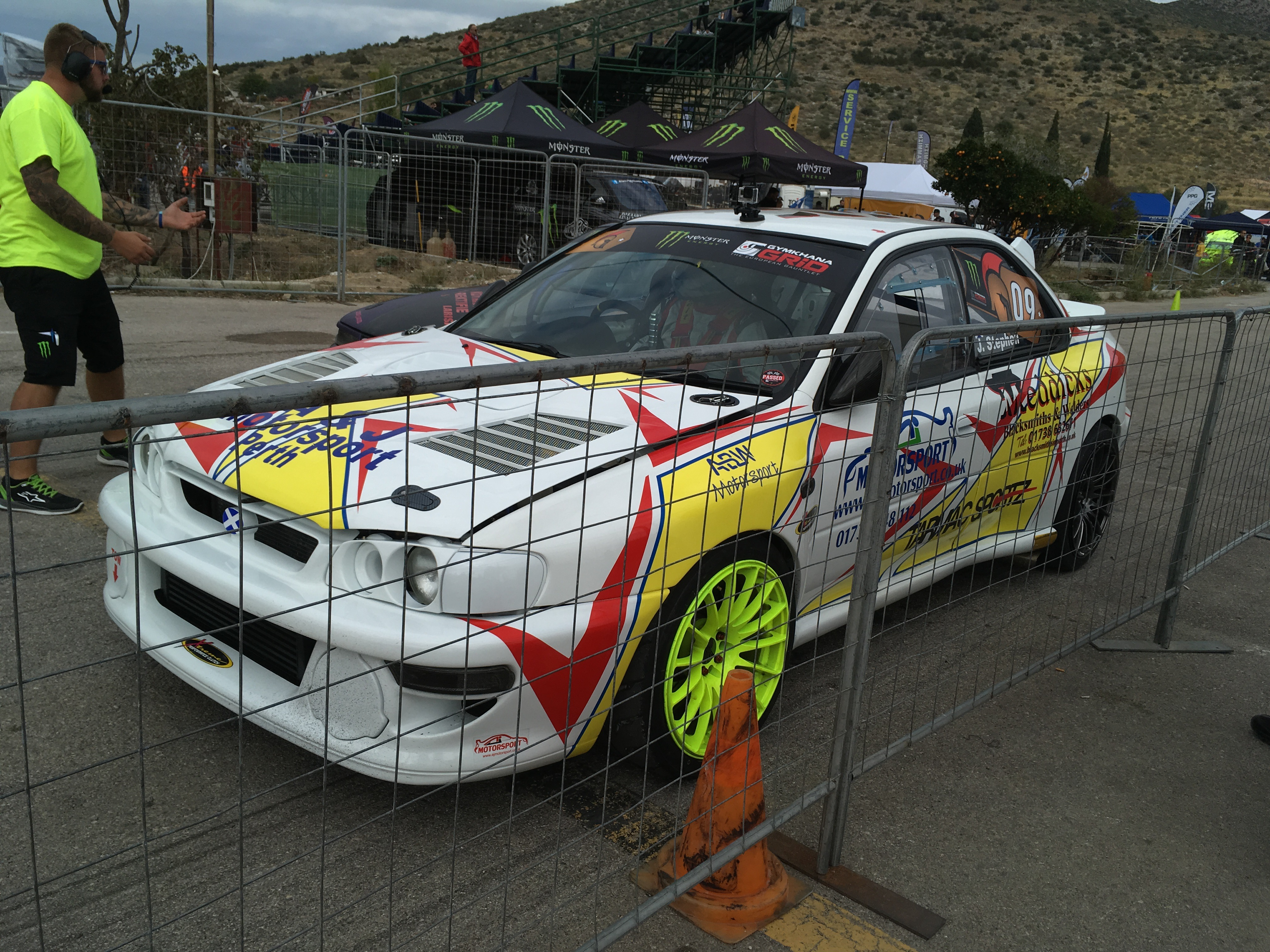 My Good Friendu0027s James Stephenu0027s Subaru Impreza WRX STI 22B At Gymkhana  Grid!! I Was Officially Invited By Monster Energy!!