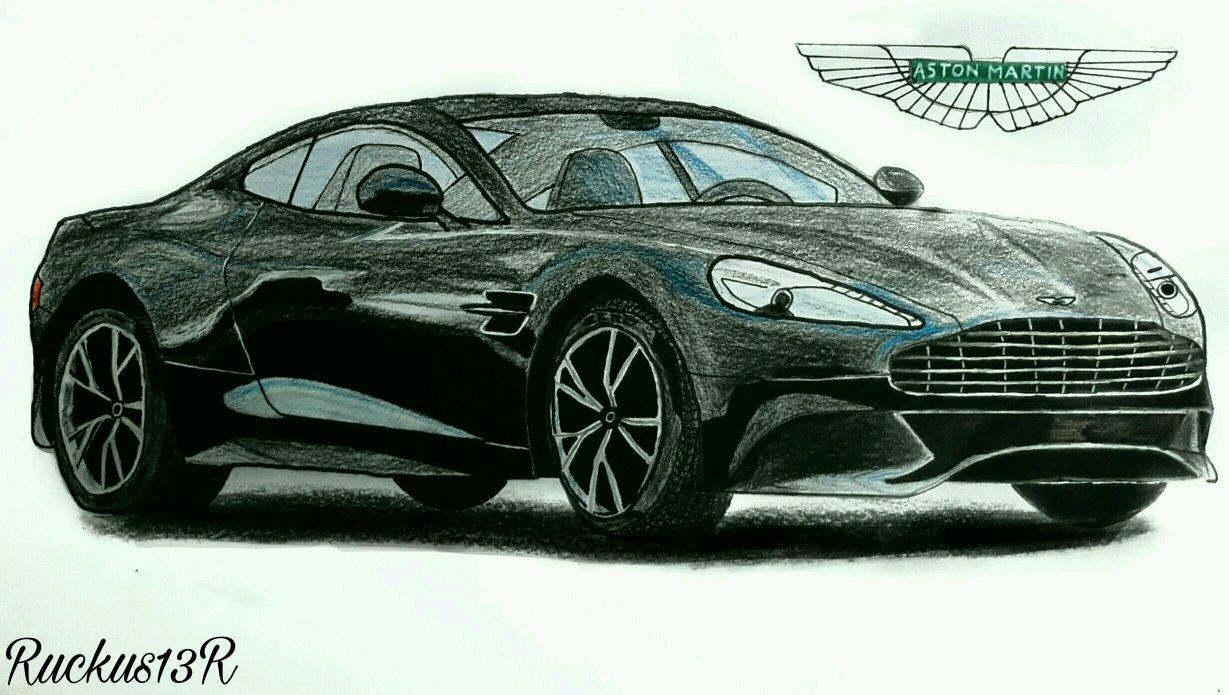 This Is My Aston Martin Vanquish Drawing Hope U Guys Like It