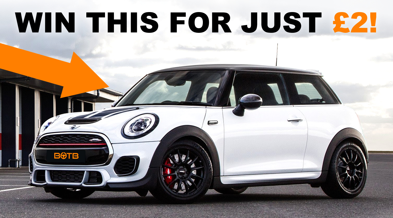 Fancy A Challenge Win This Dream Car For A Mini Price