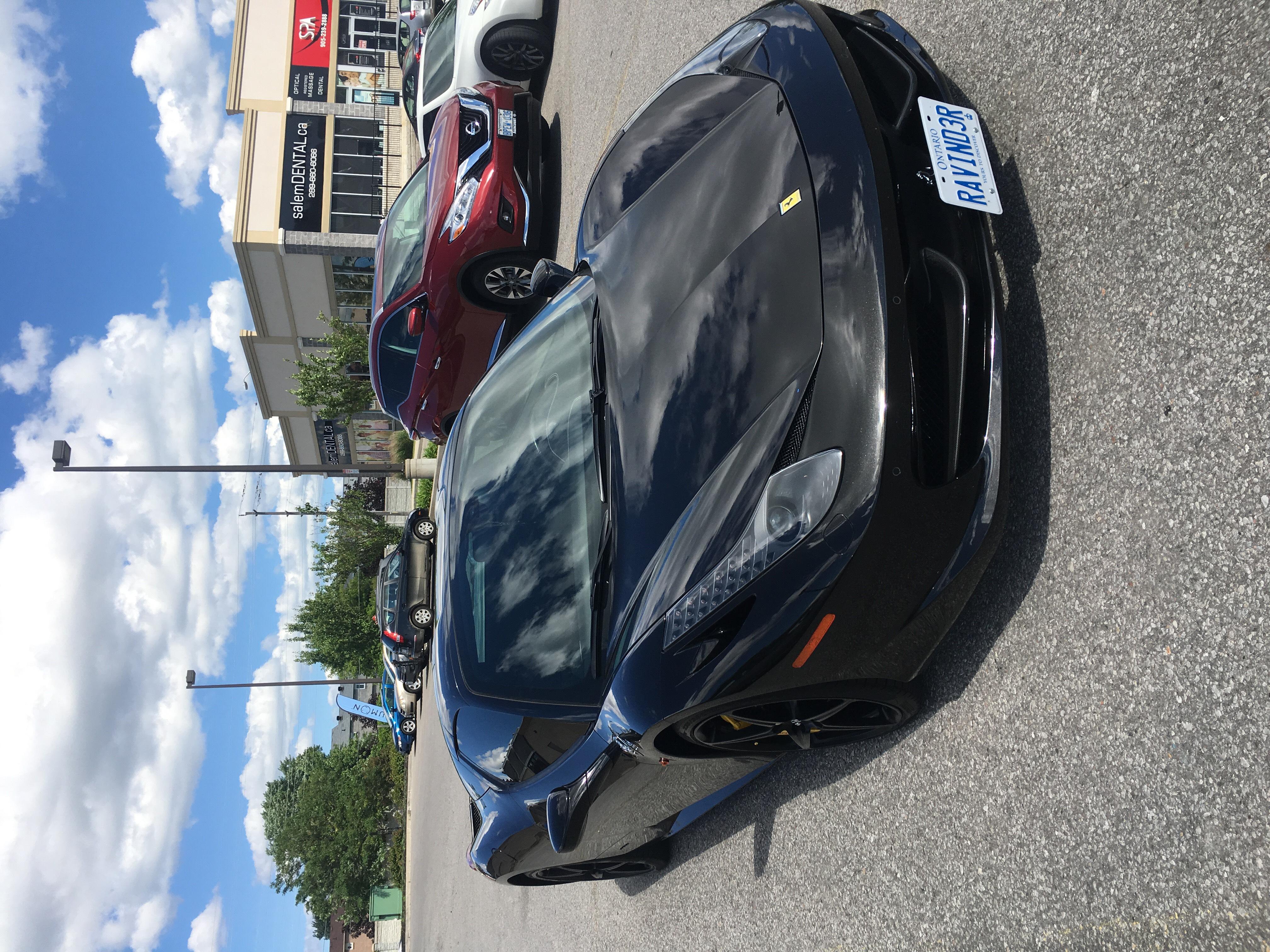 Ferrari Batmobile