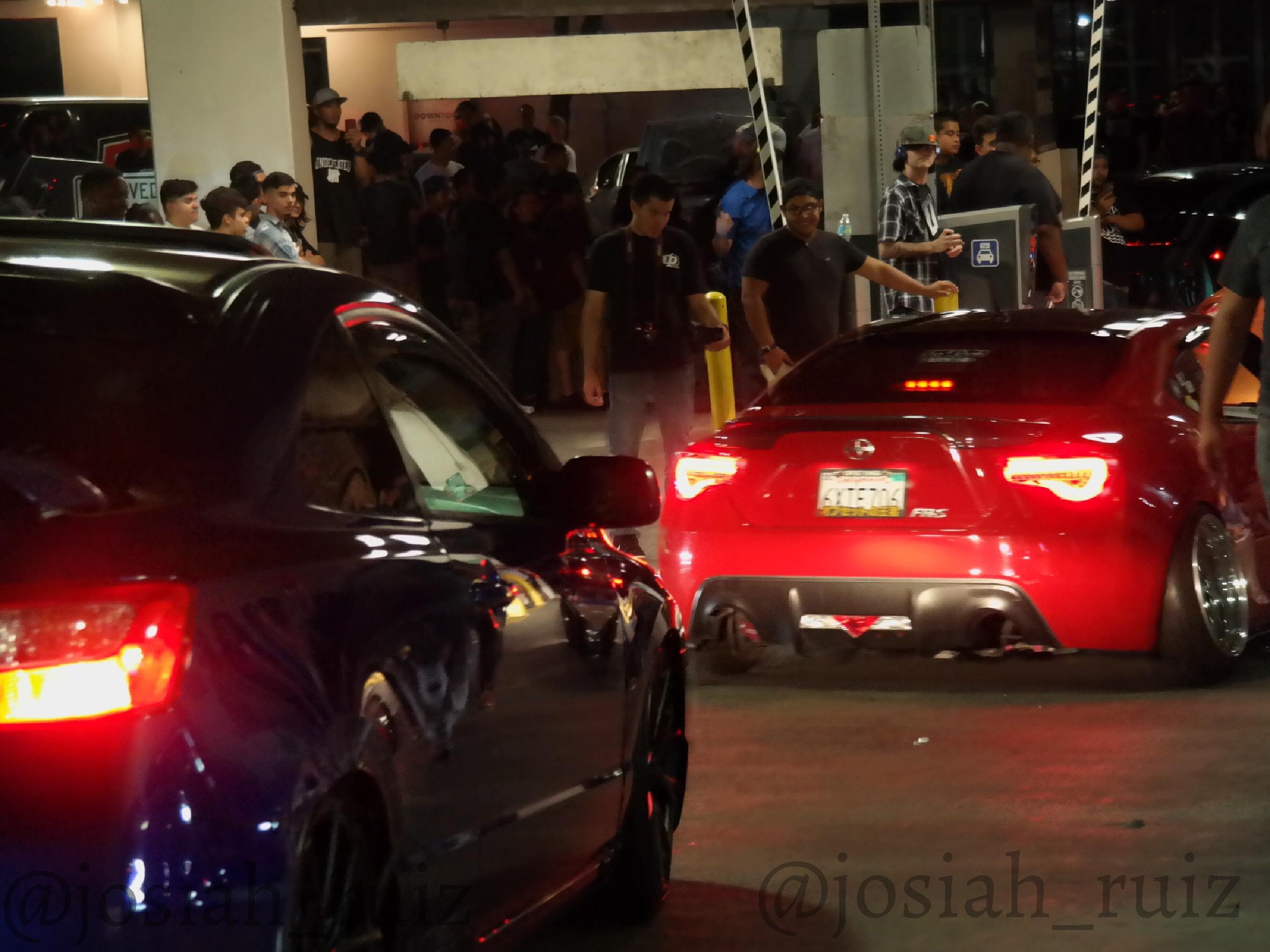 Night Car Meet Pic 1