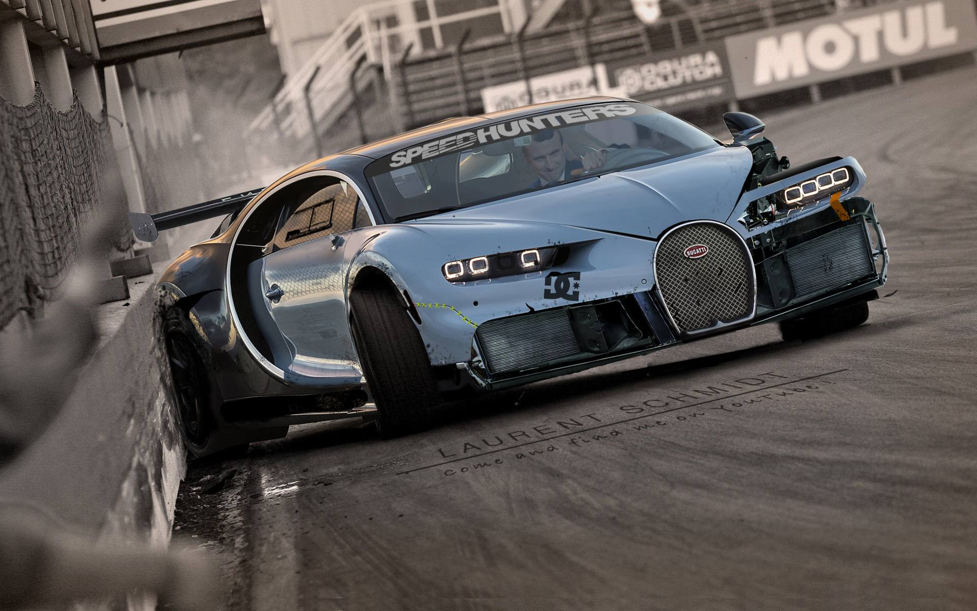 bugatti chiron drift missile the making of is on youtube. Black Bedroom Furniture Sets. Home Design Ideas