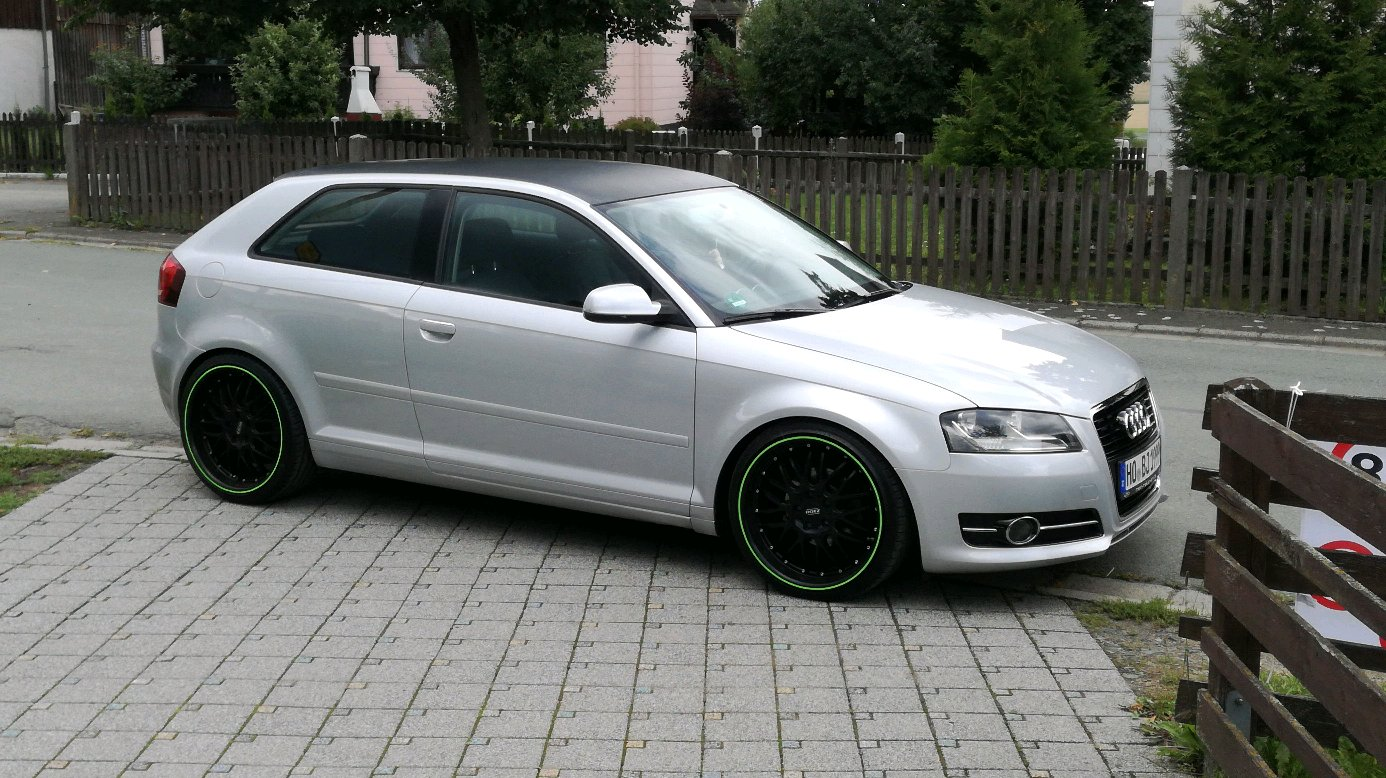 Since Sunday I\'m the proud owner of an Audi A3 8P Sportback :D ...