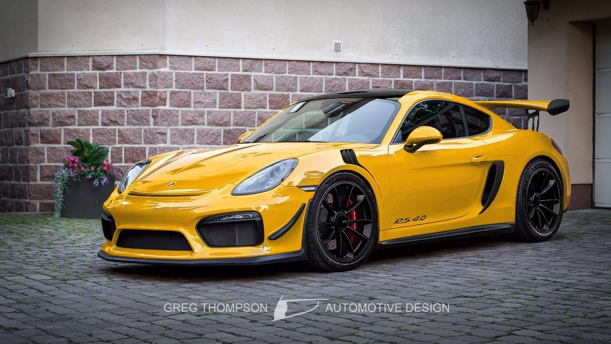 Porsche 718 Cayman GT4 RS will come extremely soon.