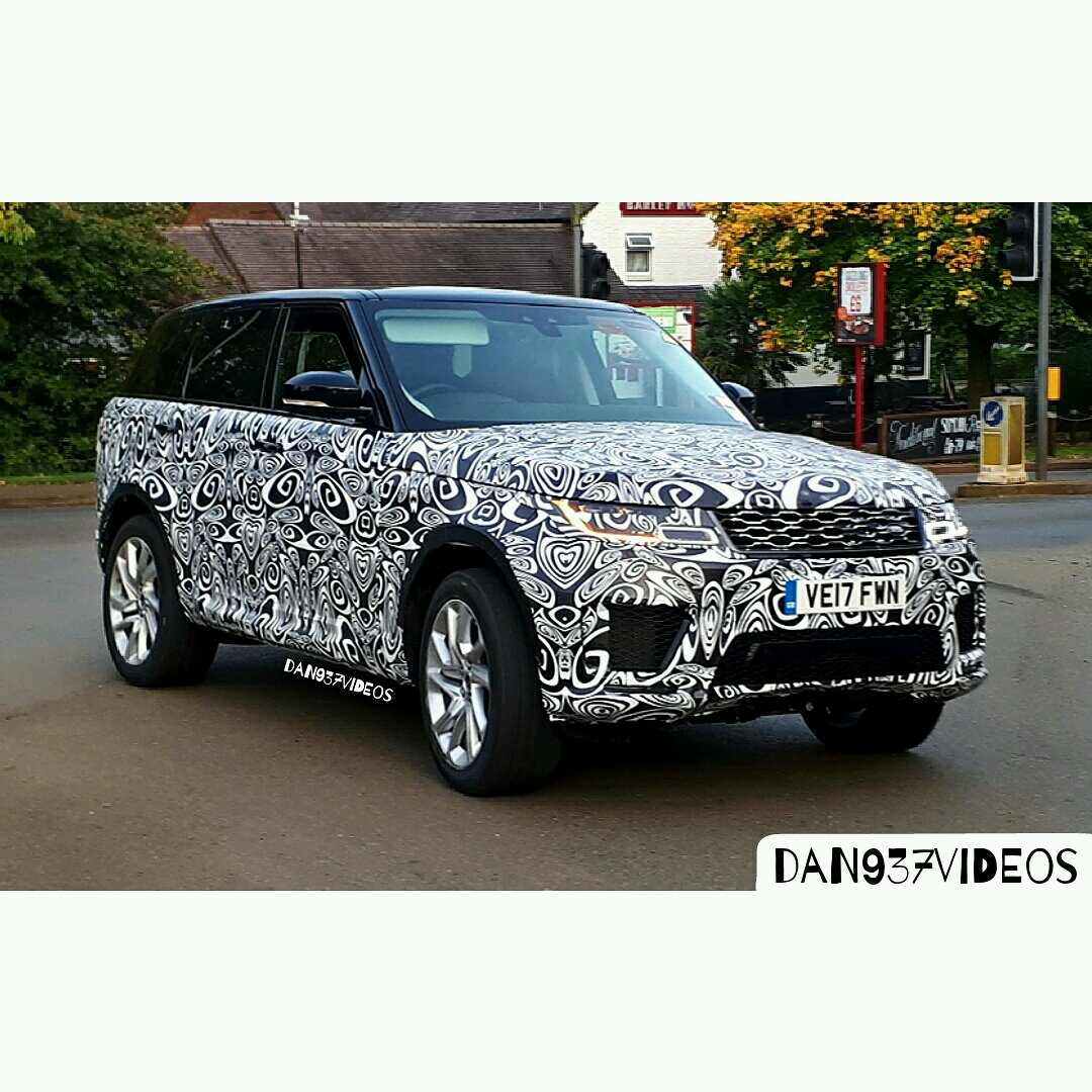2018 range rover sport looks like range rover are doing another facelift spotted. Black Bedroom Furniture Sets. Home Design Ideas