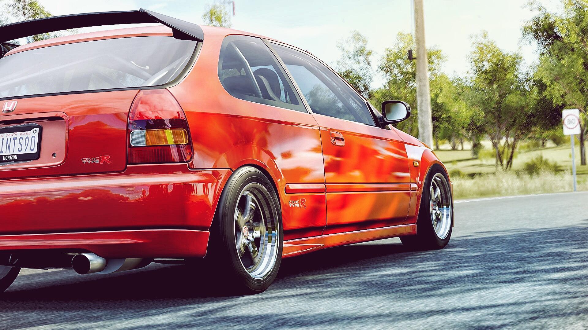 Honda Civic Type R (ek9) (offset glitch) #forzatography