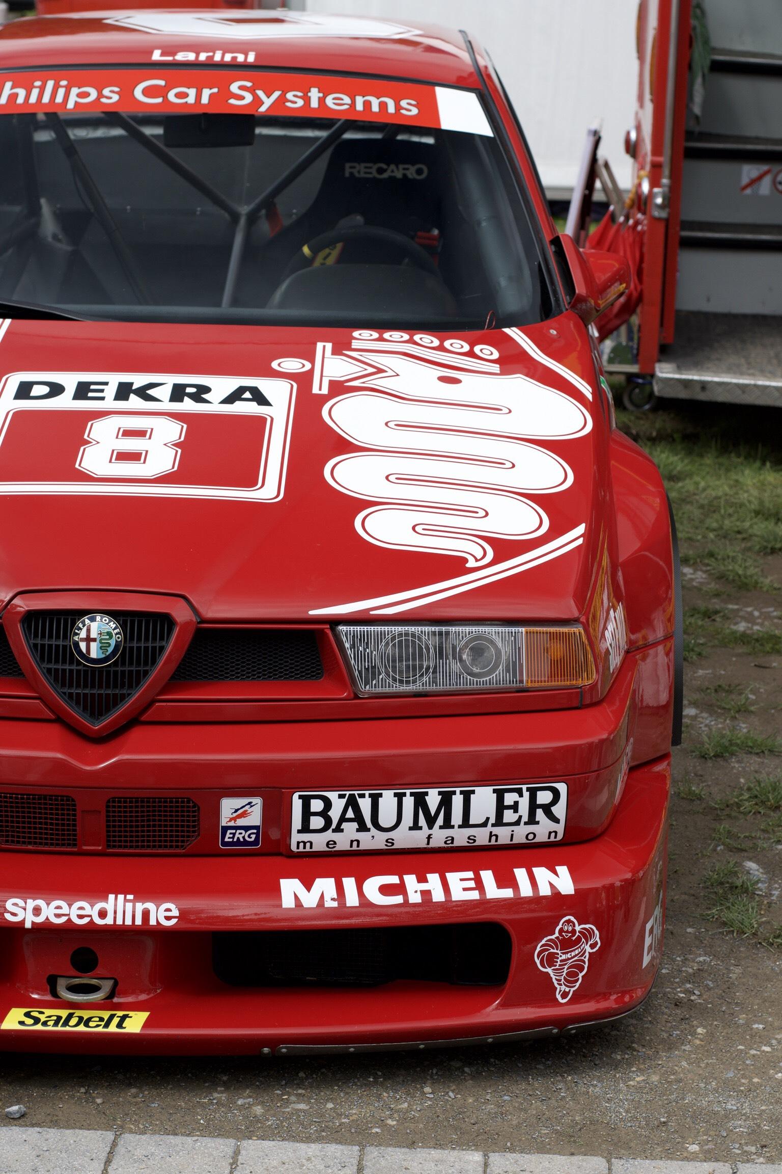 Alfa Romeo 155 DTM Phone Wallpaper