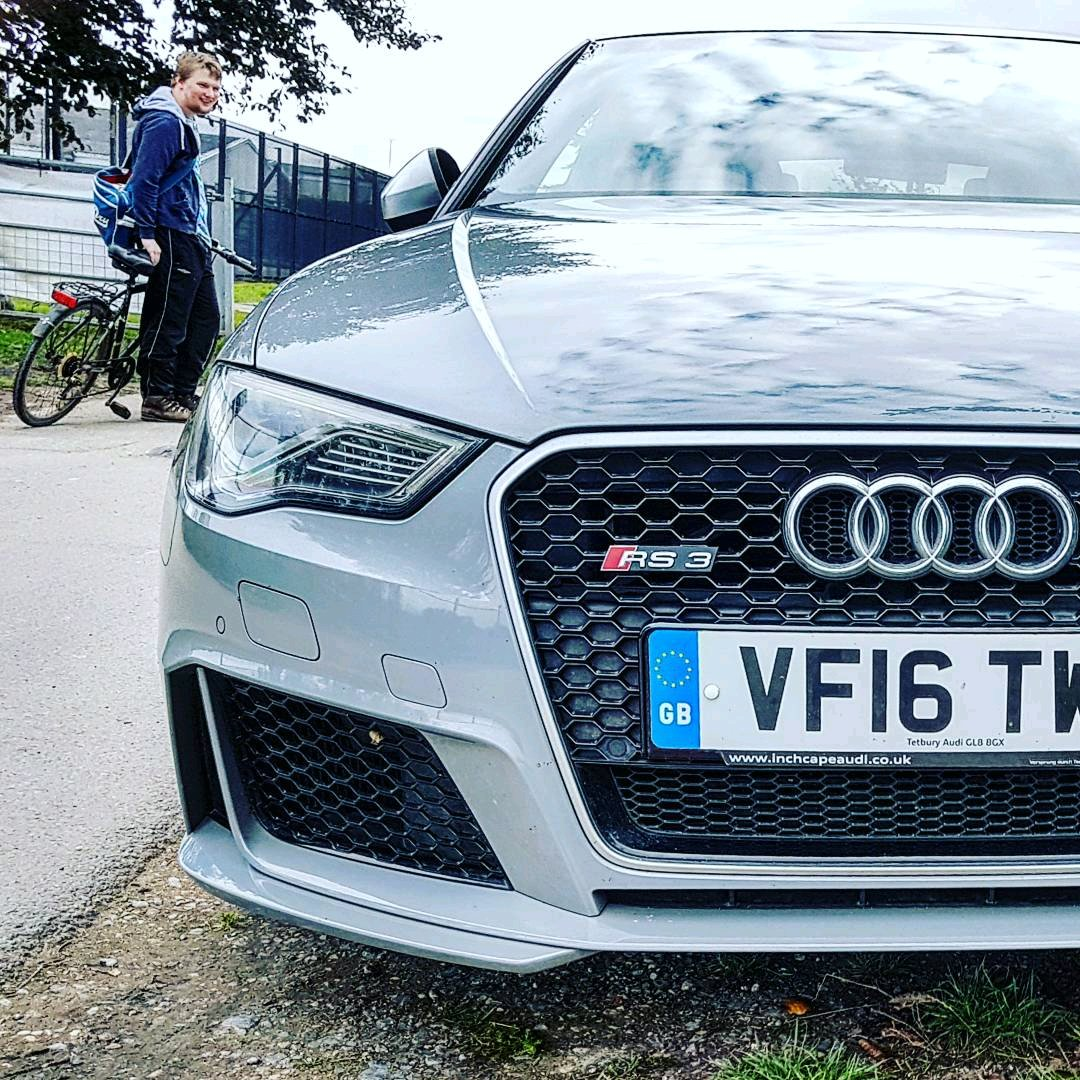 Audi Rs3 Spotted In Nardo Grey