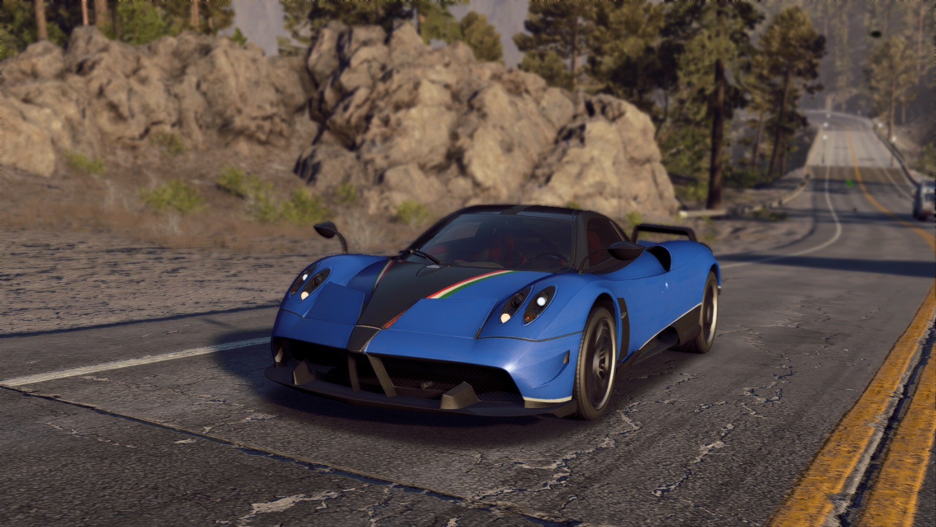 NFS Payback is basically a Pagani Huayra one of one configurator. I