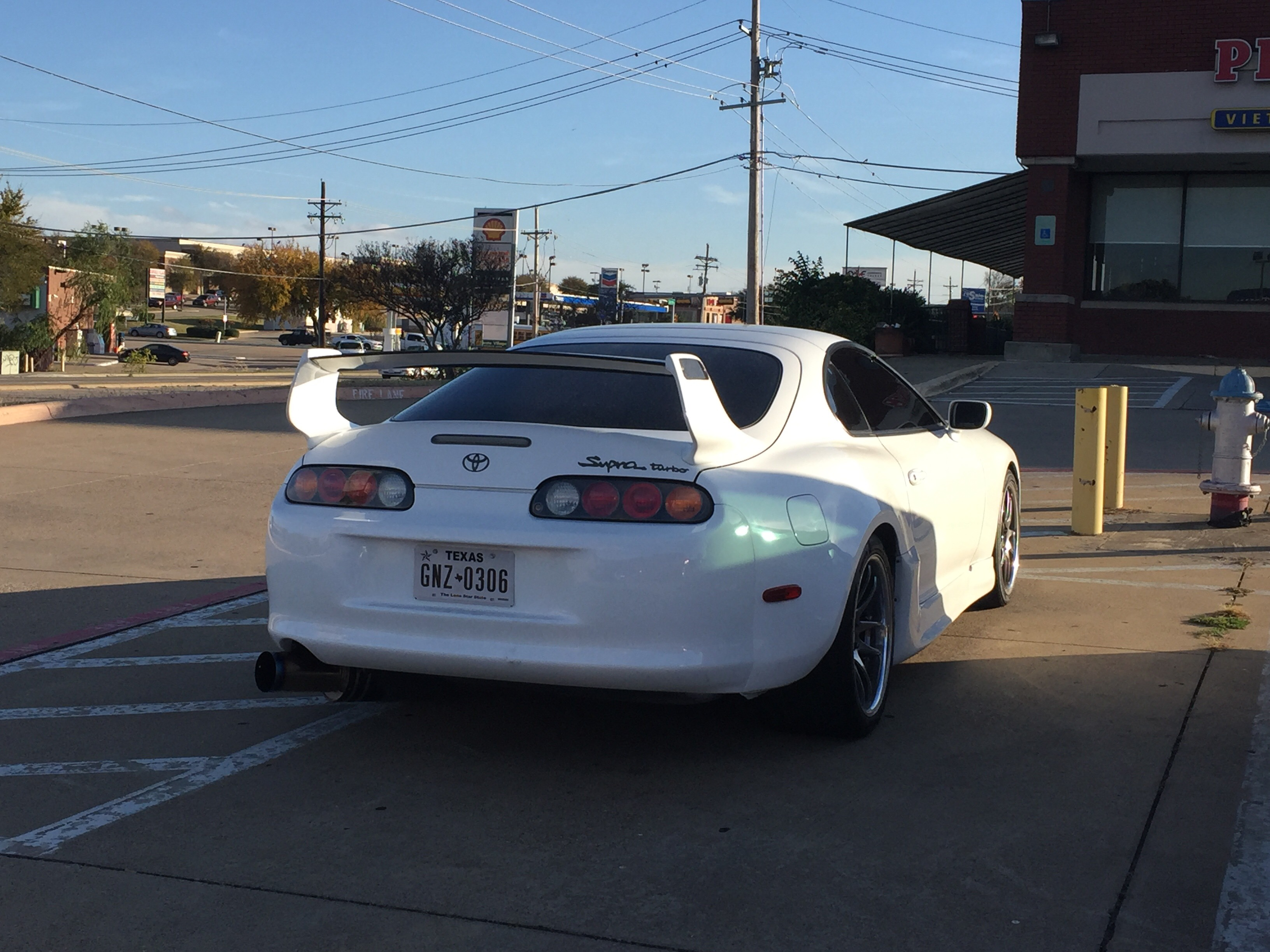 I Spotted This Clean Supra The Wild Today!   Car Spotting