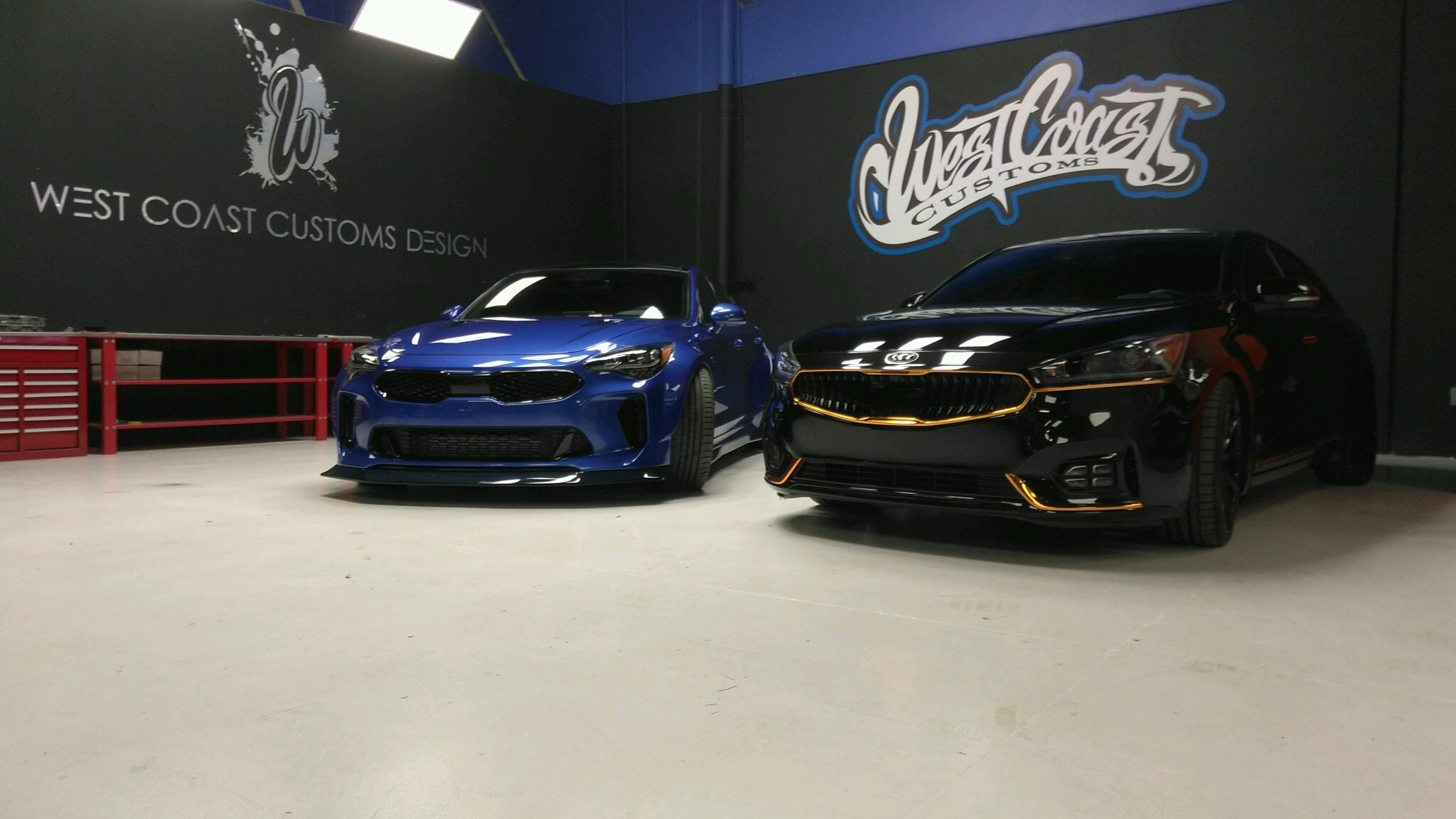 West Coast Kia >> The All New Kia Stinger Modified By Me And The Team At West