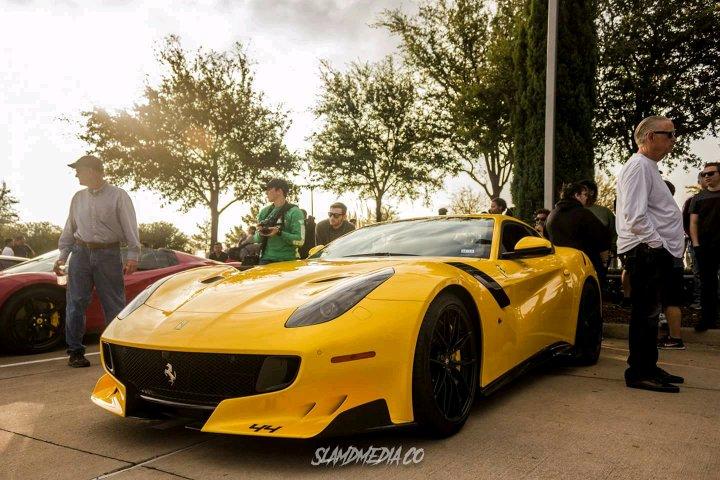 Slamdmedia Co Ferrari F12 Tdf Dallas Cars And Coffee November