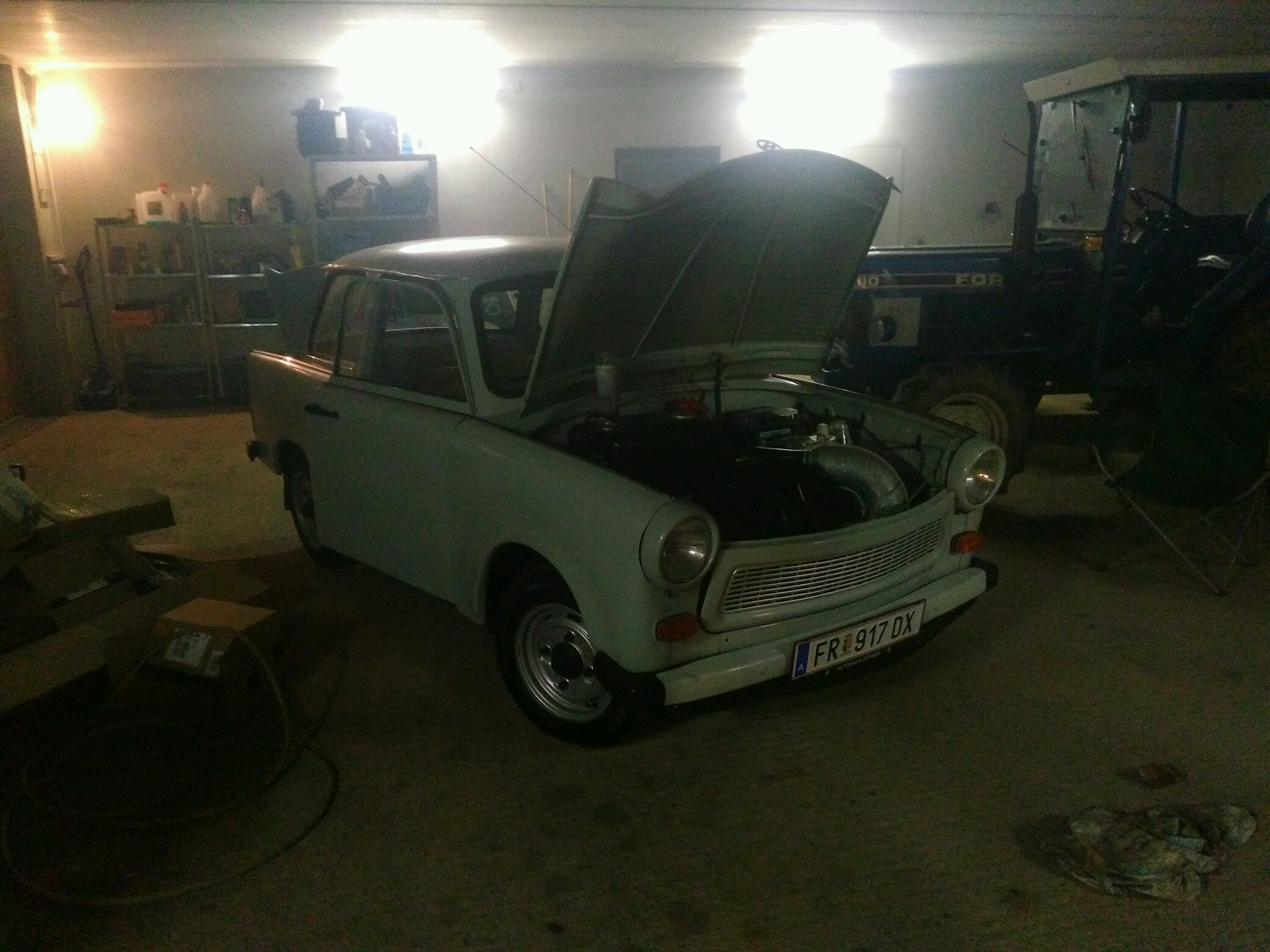 my trabant p601s winter project 26hp 2stroke 2cylinders and loads of ...