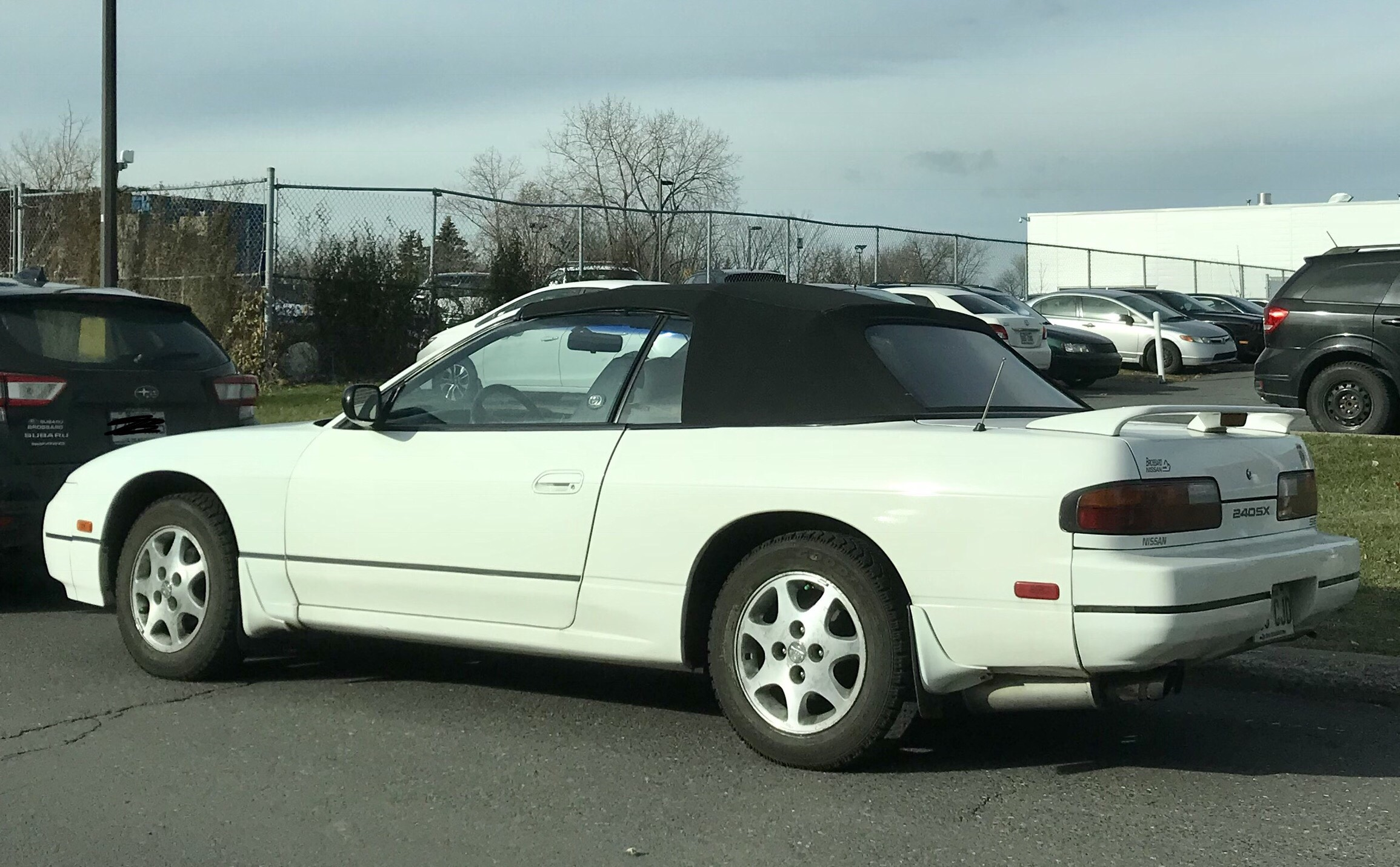 1e02baf64f2041 Now here s something you don t see everyday... A 240sx convertible!