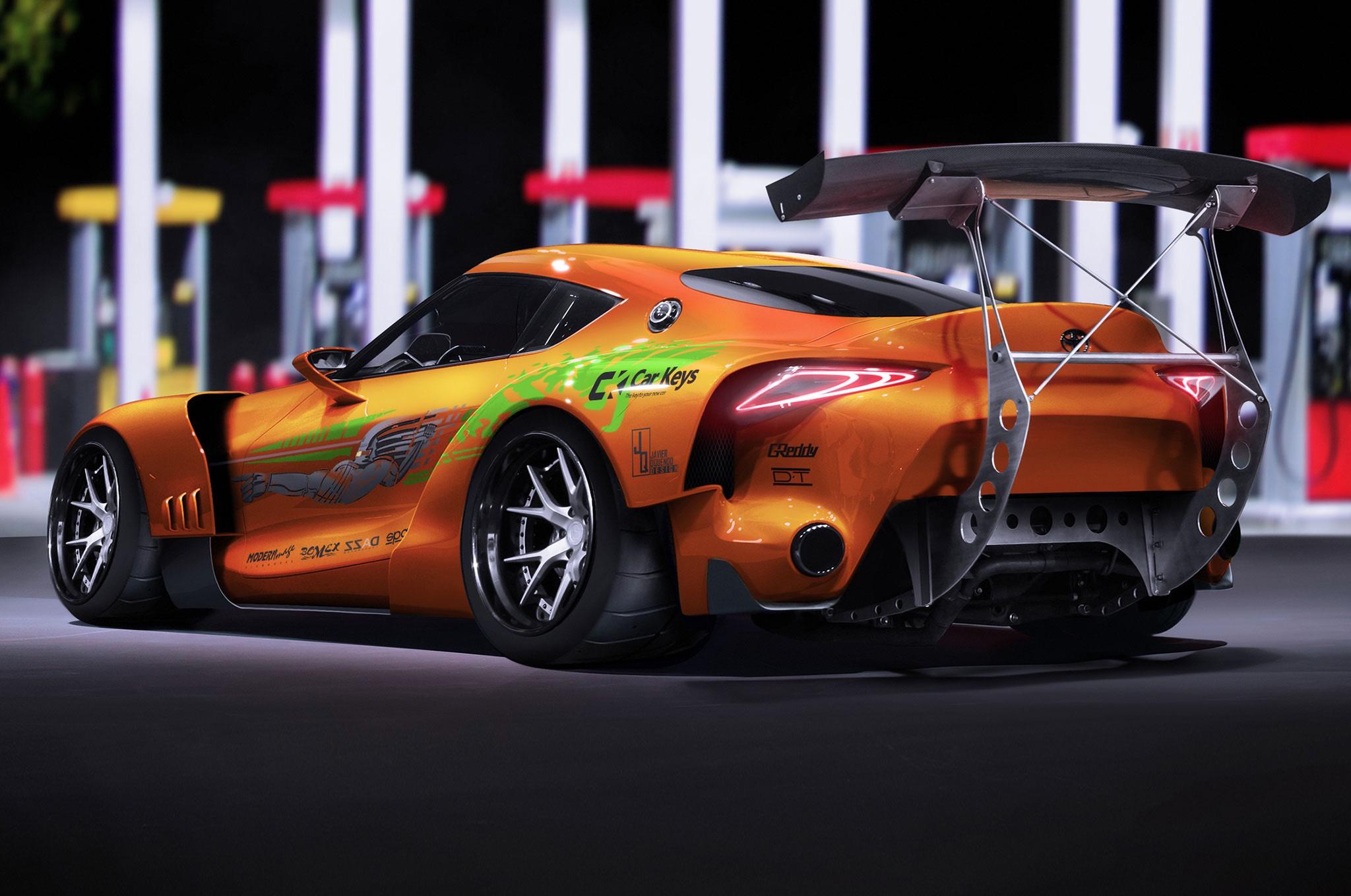 Toyota Supra MK5 render