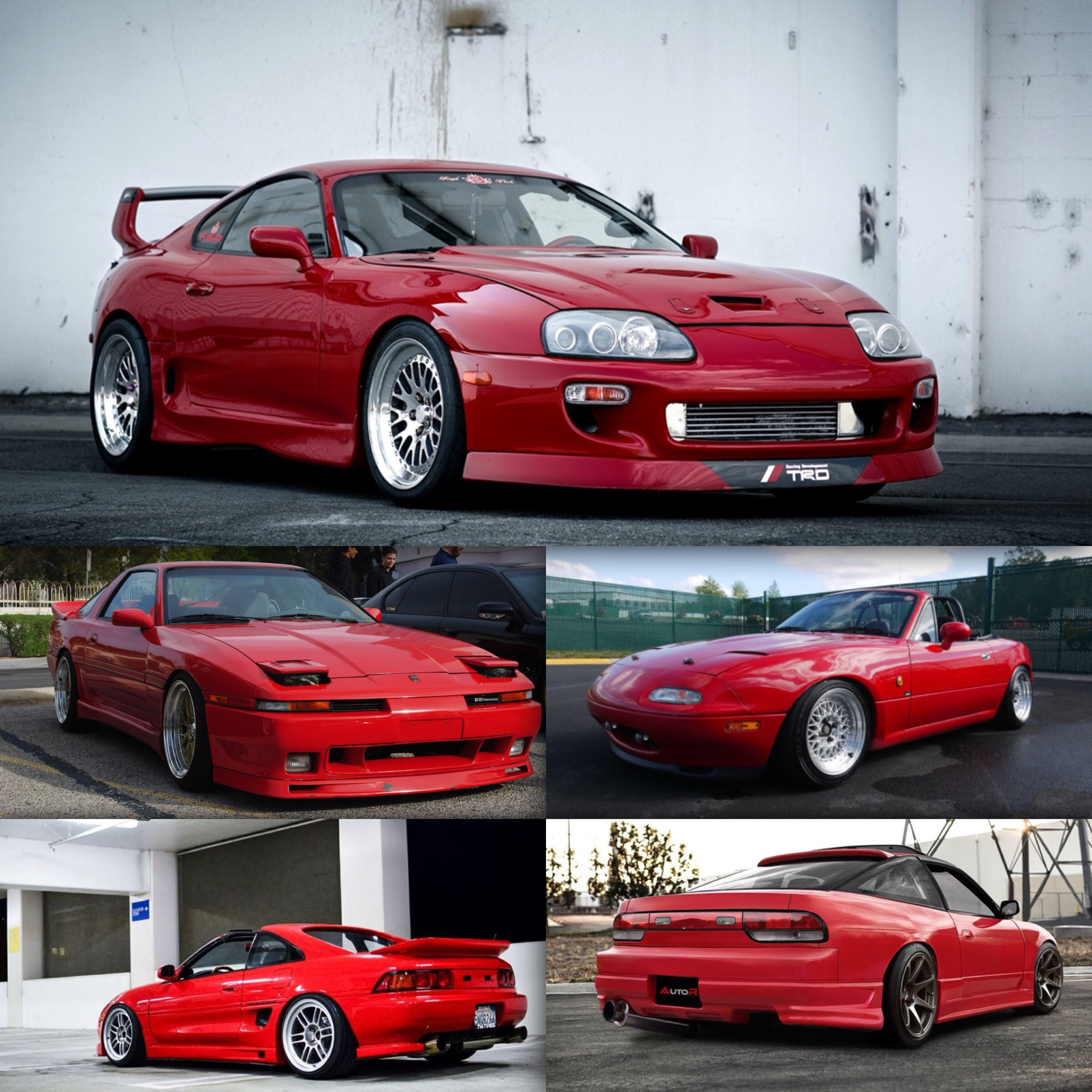 What Is Your Top 5 Japanise Cars? (or Just Your Top 5 Favorite Cars) Mine  Are: 1.MK4 Supra 2.MK3 Supra 3.MR2 4.200SX 5.MX5 Hard To Tell Whats My  Favorite ...
