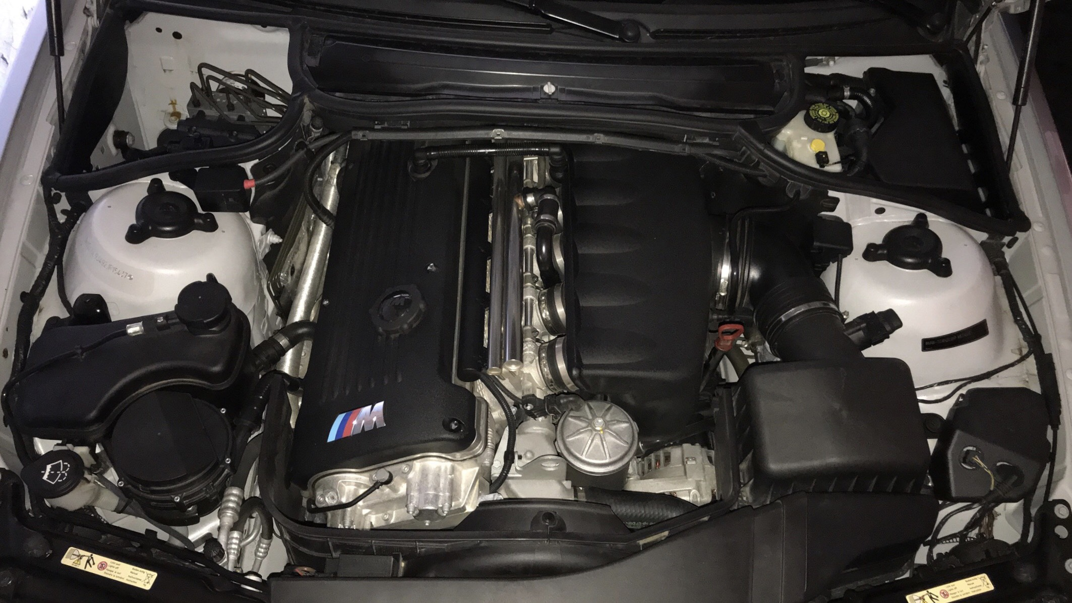 In Love With The Engine Bay Of My E46 M3