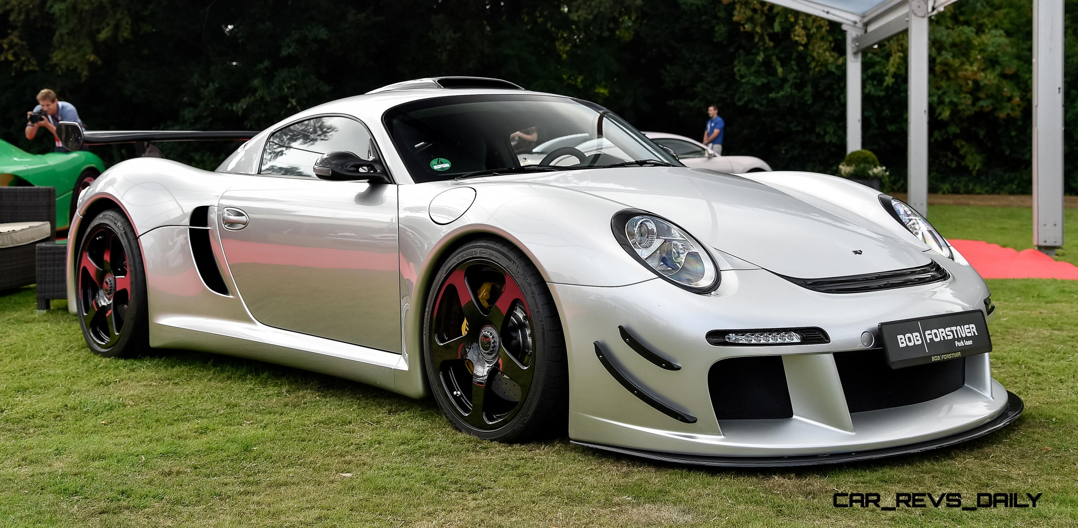 When someone says what a beautiful car, i unfairly compare it to the RUF  CTR3 lol.