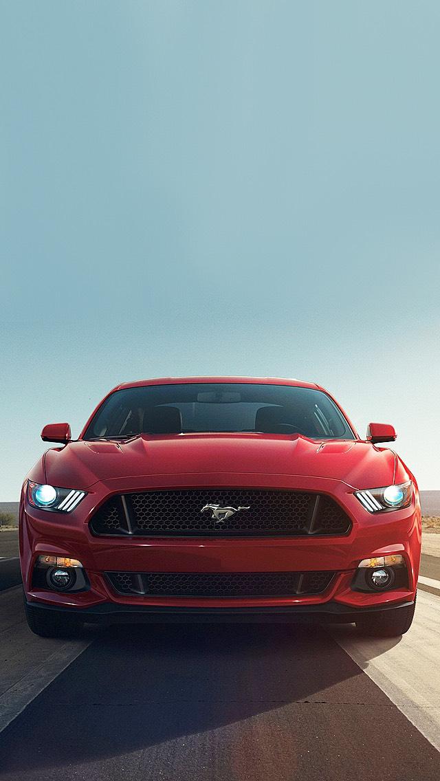 Ford Mustang phone wallpaper.
