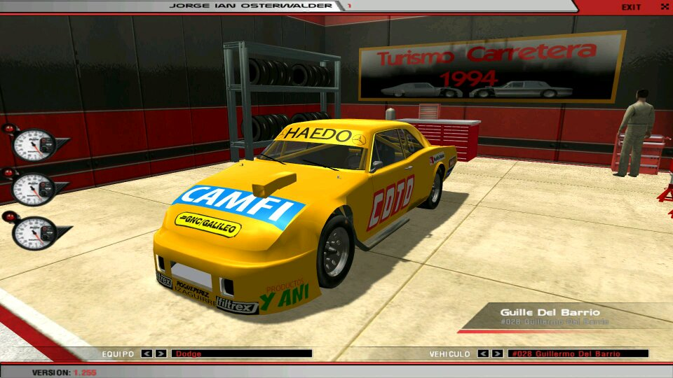 Iam making a Mod for the old rFactor The mod is the