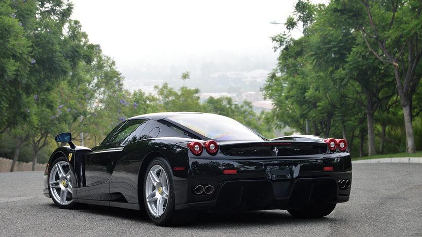 2003 Black Ferrari Enzo Ferrari