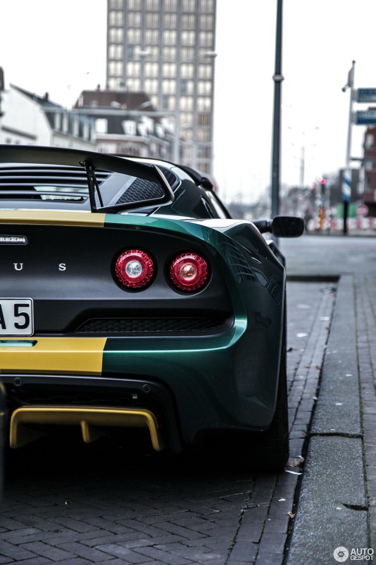 Lotus Exige Sport 350 Phone Wallpaper