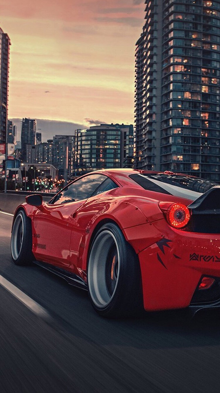 Awesome Rocket Bunny Ferrari 458
