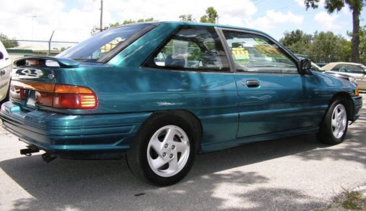 1993 ford escort gt 1 8l