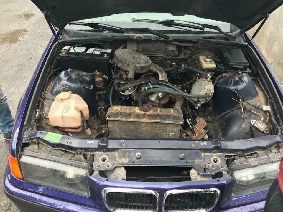 Bmw E36 314i Lpg Engine Released D
