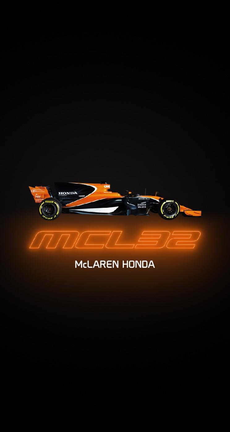 Mclaren Mcl32 Phone Wallpaper