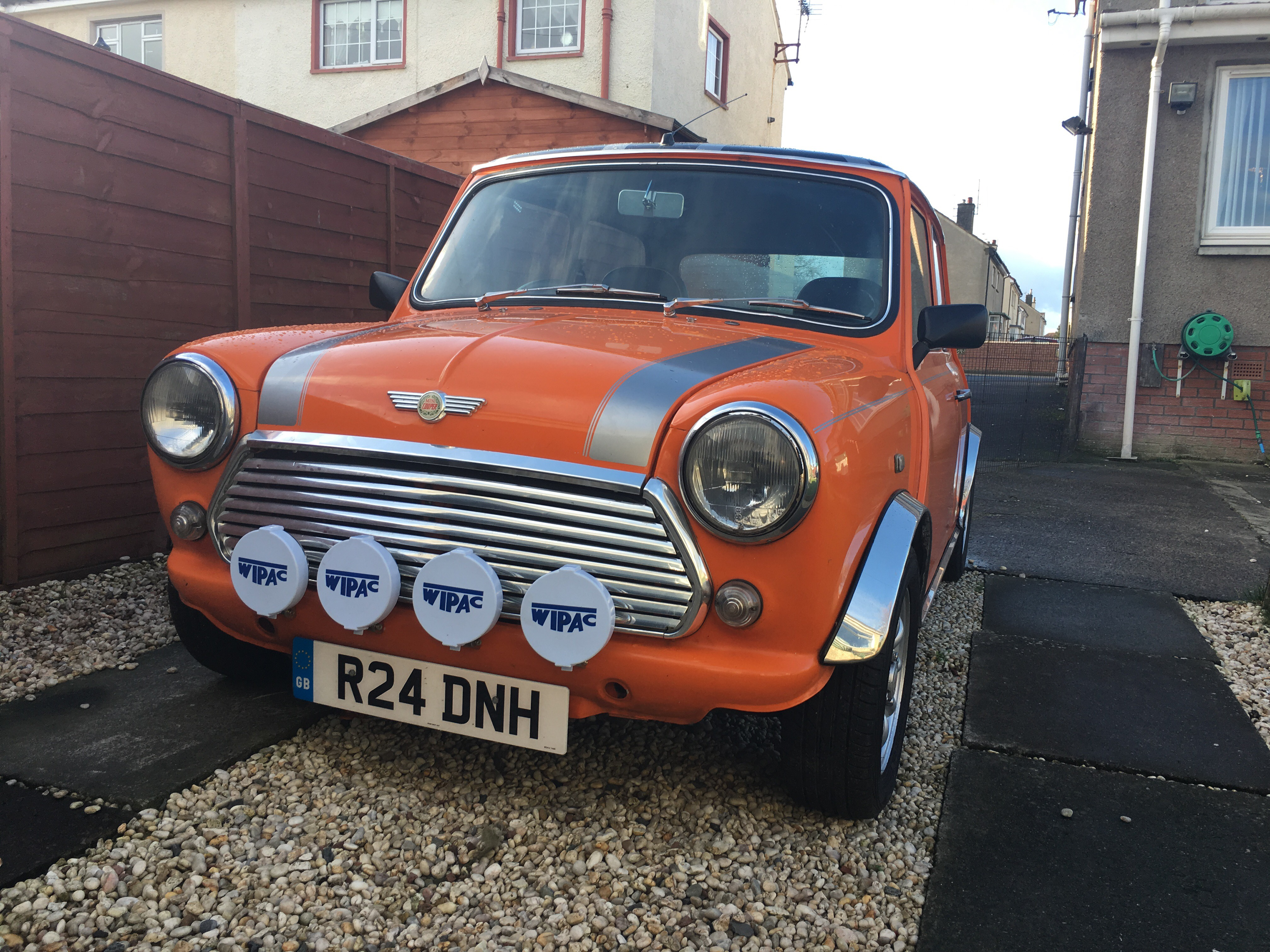 My New 1997 Rover Mini Cooper