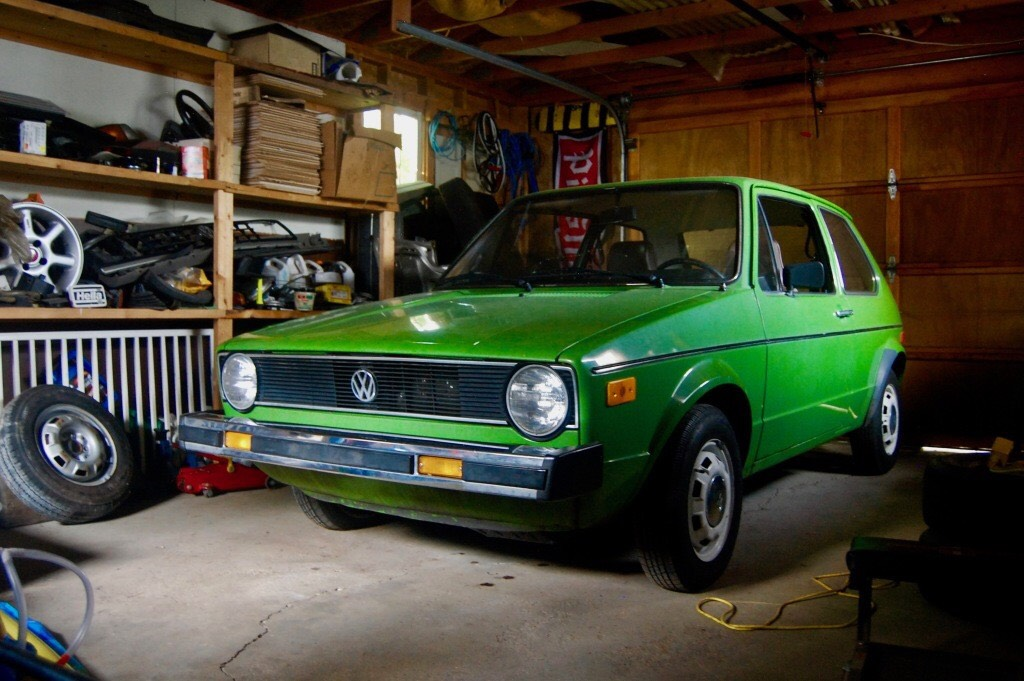 1977 Volkswagen Rabbit Deluxe Golf Gls