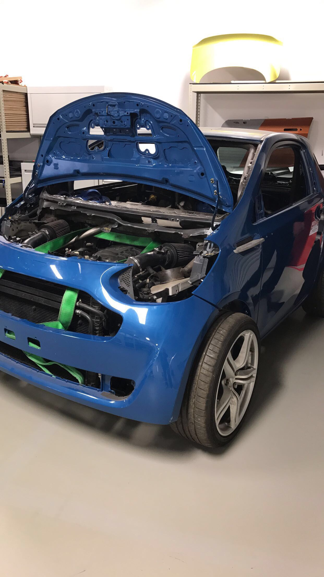 Aston Martin Cygnet With A 4 7 V8