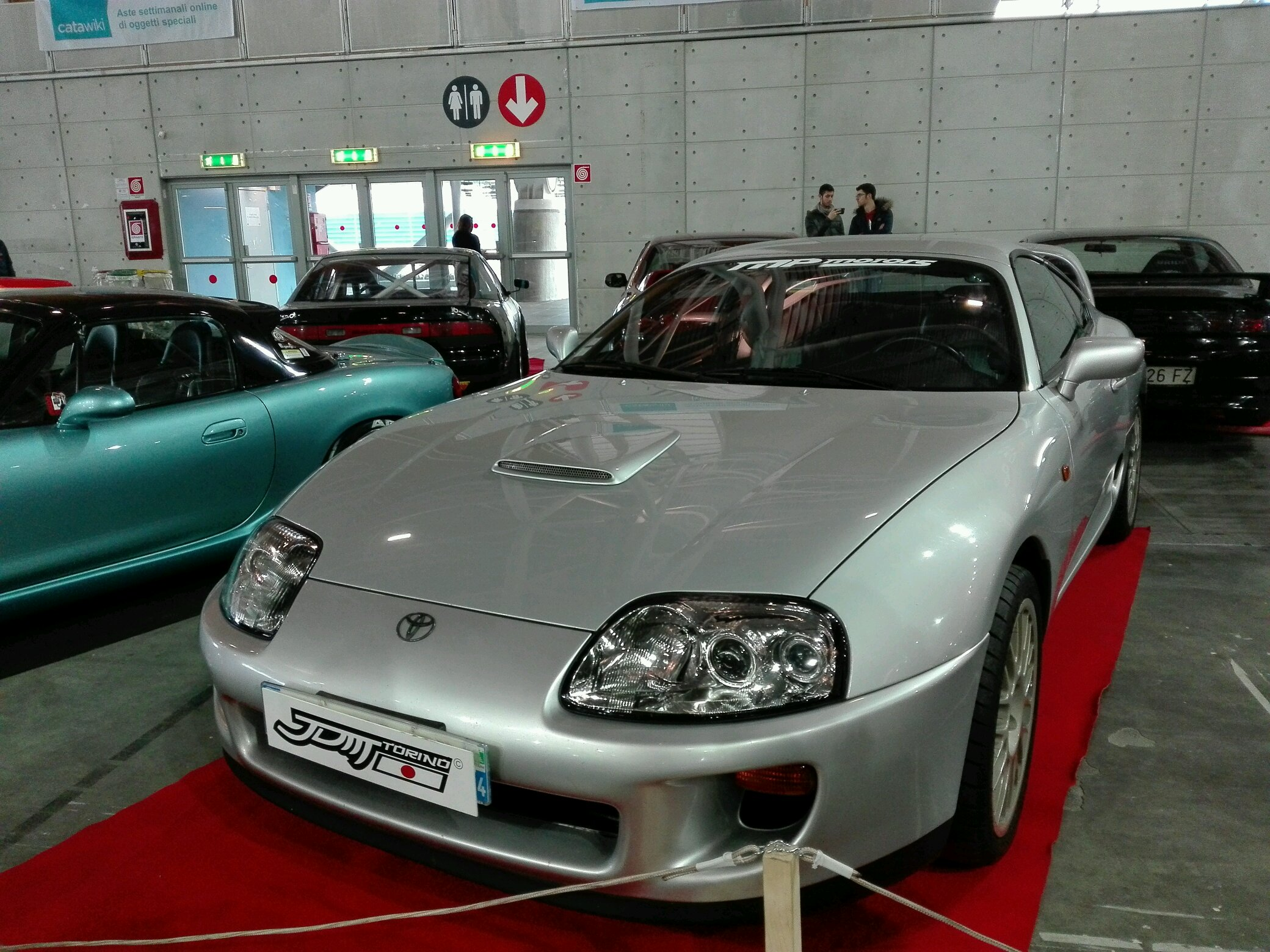 Clean supra I don't quite like that hood scoop tho