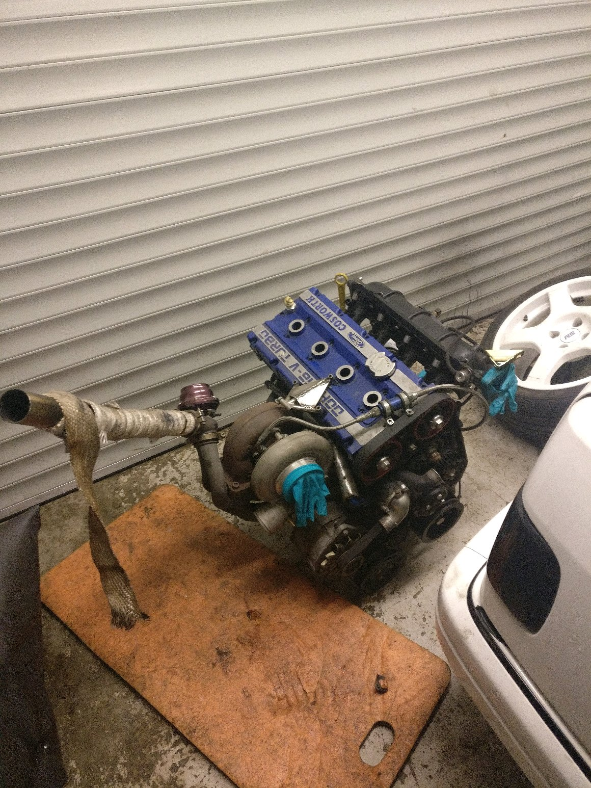 670bhp Cosworth YB for our Track Sierra Cosworth