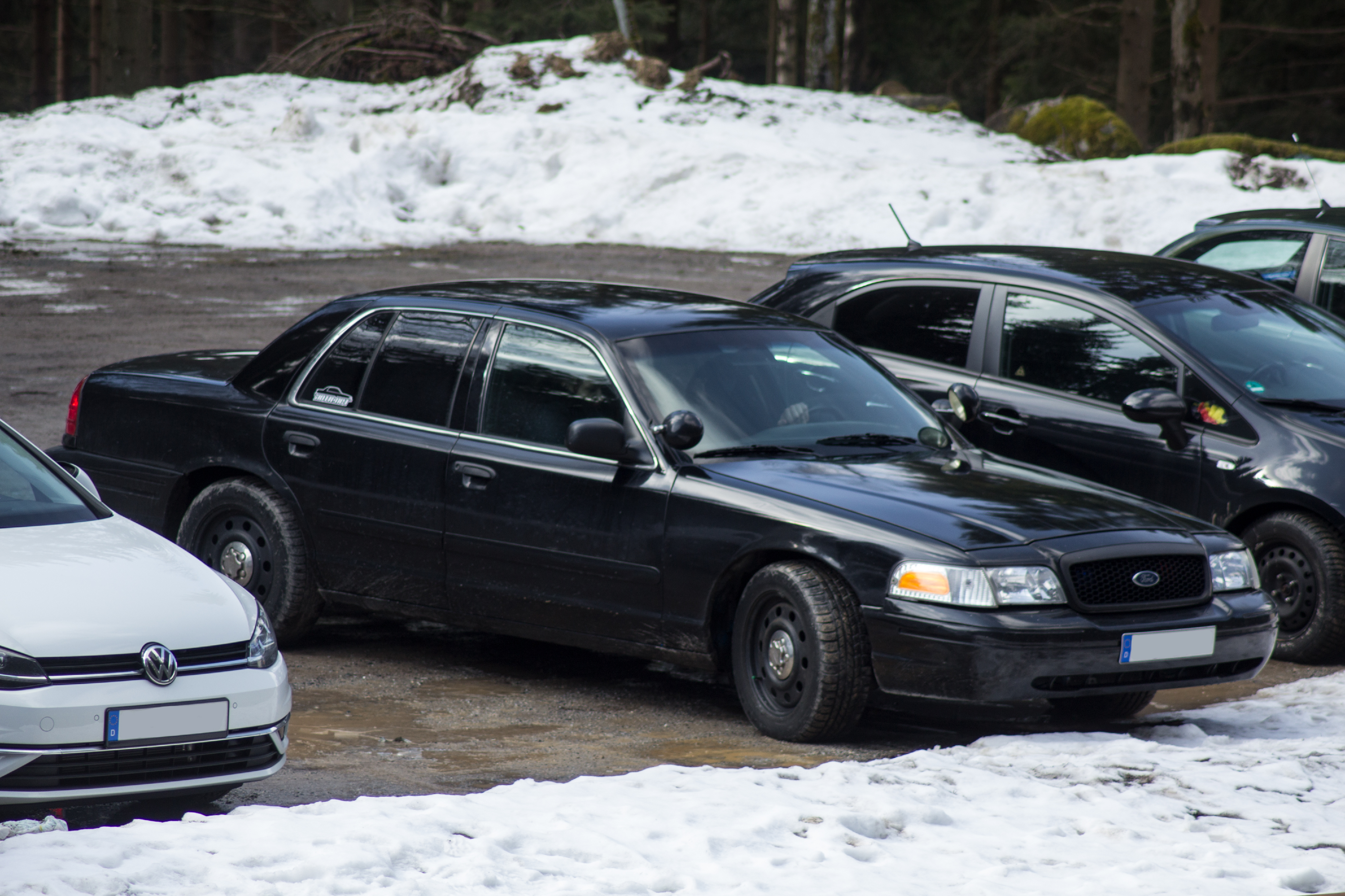 Ford Ford Crown Victoria Police Interceptor Spotted Car Spotting