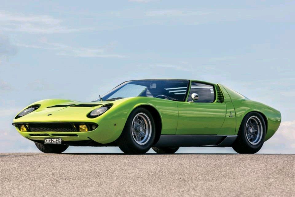 Lamborghini Miura The Original Supercar