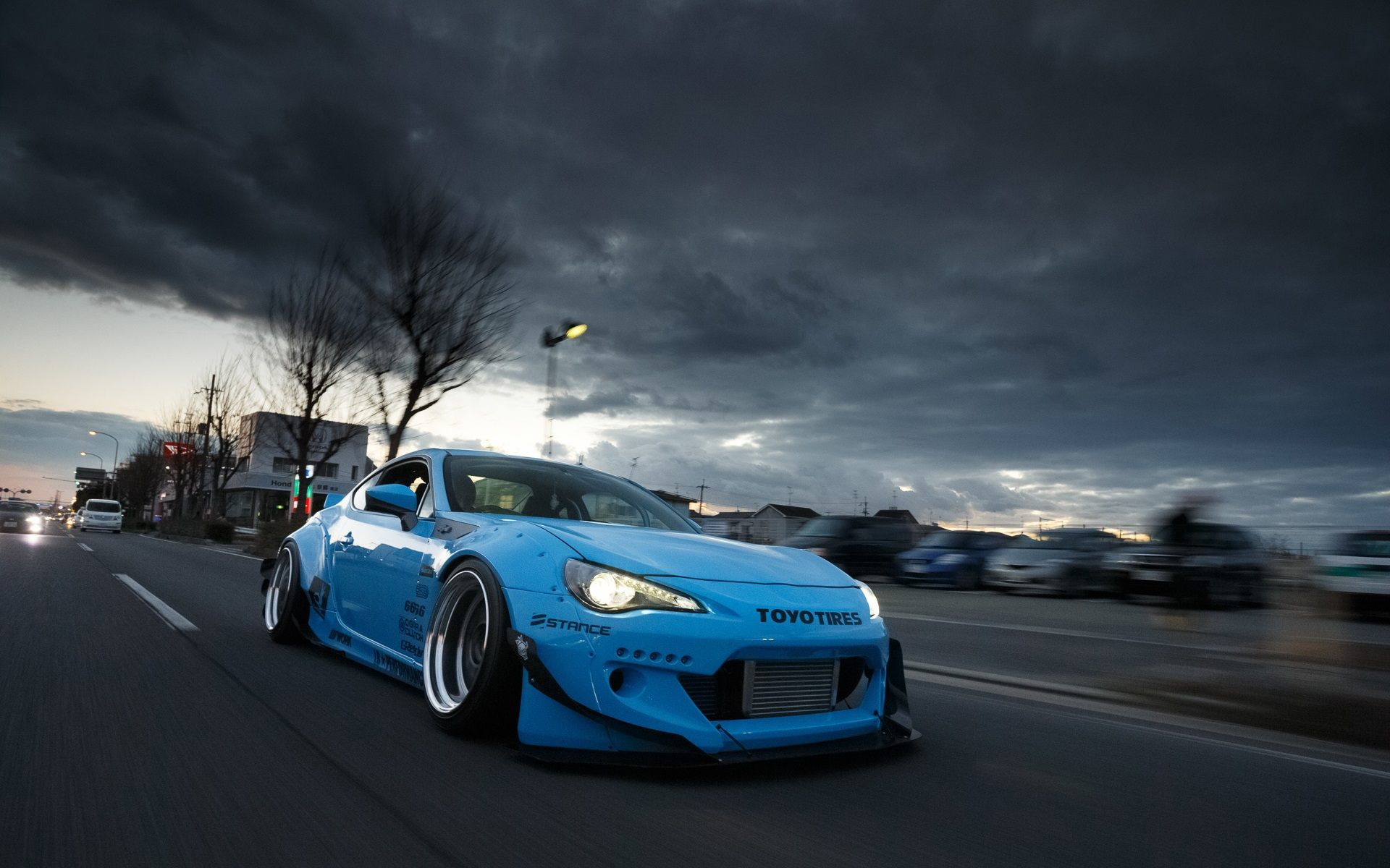 86 Brz Frs Rocket Bunny Wallpaper