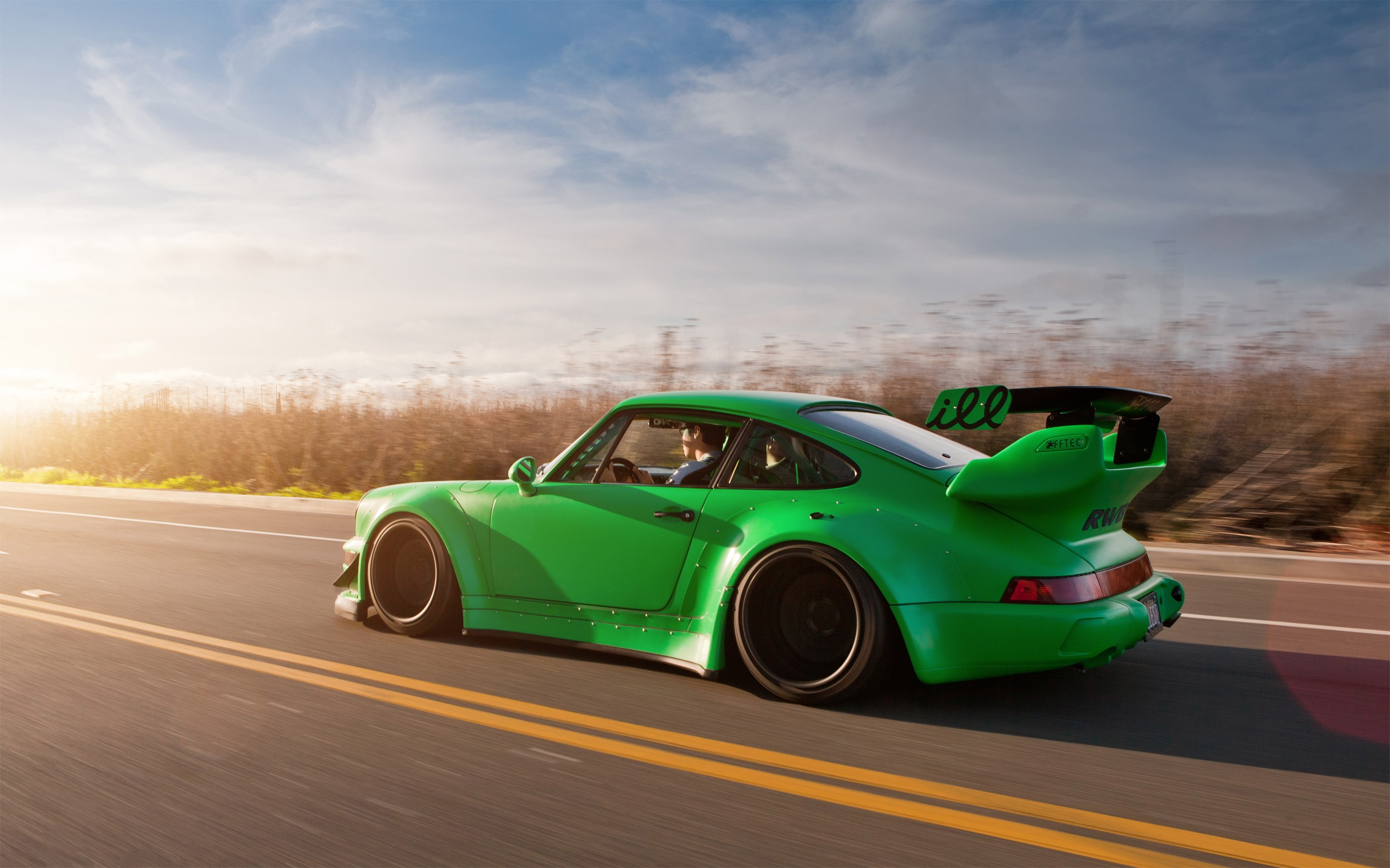 Rwb Porsche 911 Carrera 964 Wallpaper