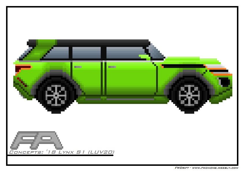 Pixel Art Fa Concepts 18 Lynx S1 Luv20