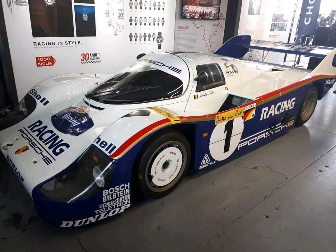 Jacky Ickx S Porsche 962 At The Classic Days Of Magny Cours An Amazing Car