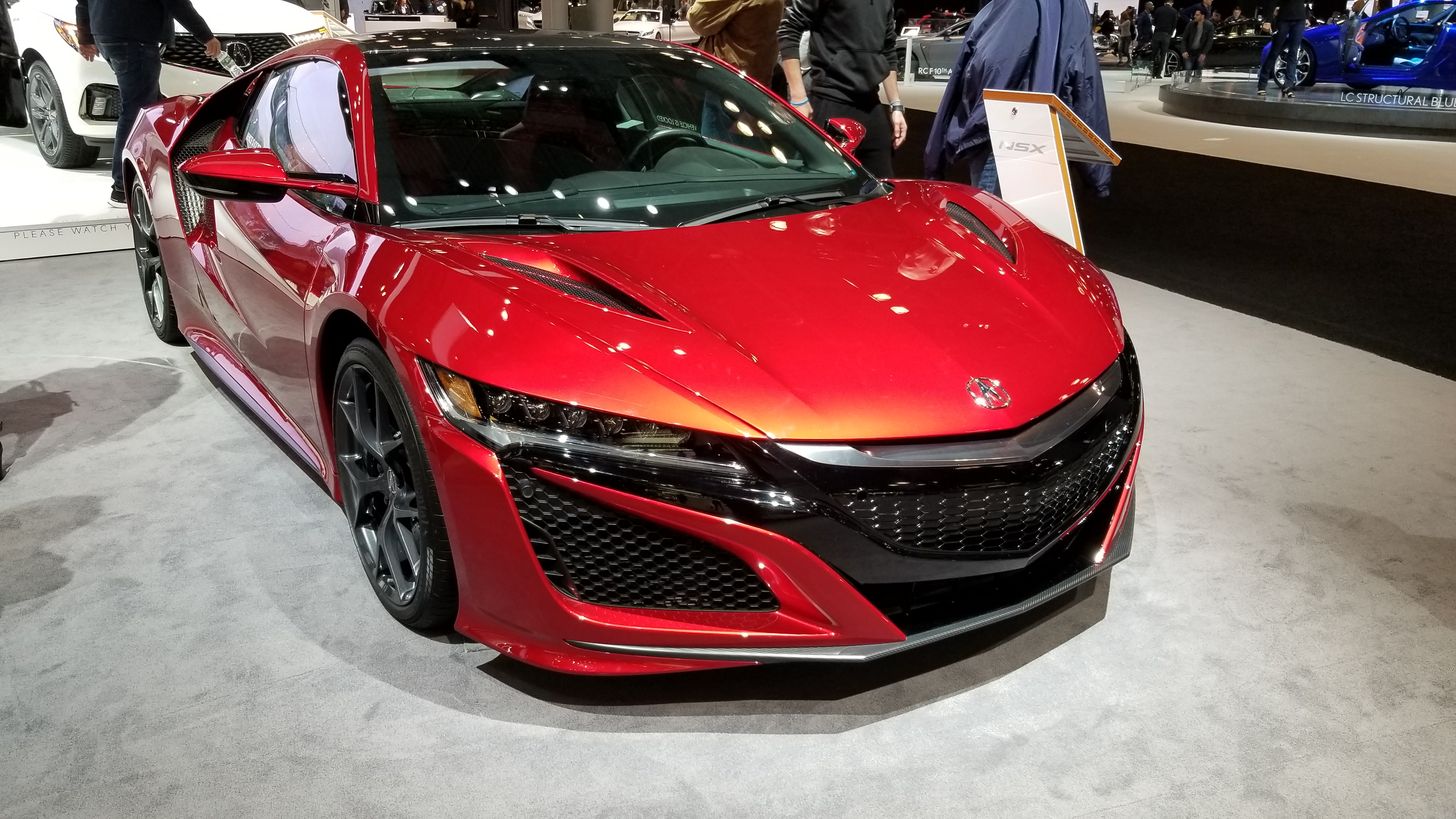 Acura NSX. One of the best cars I have ever driven