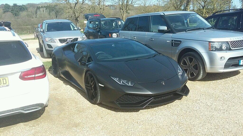 Blacked Out Lamborghini Huracan Avio Best Spot Of The Year So Far